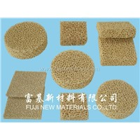 Zirconia Ceramic Foam Filters (CFZ)