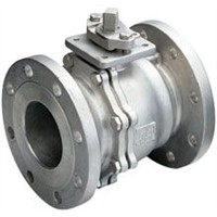 2-PC FLANGE END BALL VALVE JIS 10K