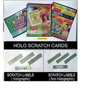 Scratch Off Labels & Scratch cards/ Gift Coupons