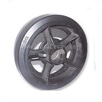 Mold-on Rubber Wheel