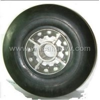 Aluminium Mold-on Rubber Wheel