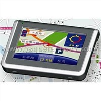 4.3 inch Car GPS(TMC,Bluetooth)