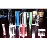 acrylic cast and extruded sheet, rod, tube