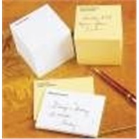 Self-adhesive note