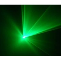 SINGLE GREEN laser light