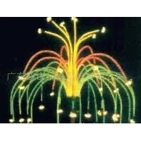 LED festival landscape firework tree lamp