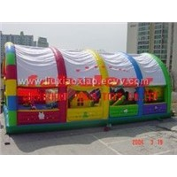 inflatable tent with archway