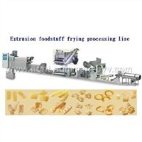 Extrusion Frying Foodstuff Processing Line