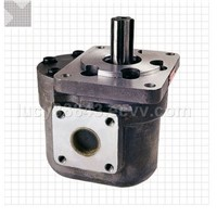 gear oil pump and speed changer