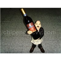 Wine Holders of Polyresin