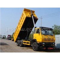 Front type lifting dumper