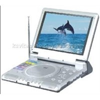 Portable DVD player with 10.4 Inch LCD Monitor