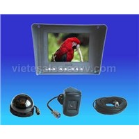 5.6-inch Color Rear View System with Sun Shield Designed for Passenger Vehicle