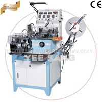 Lable cut and fold machine