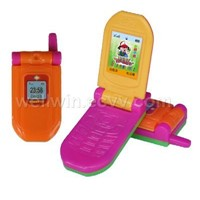 mobile phone with toy