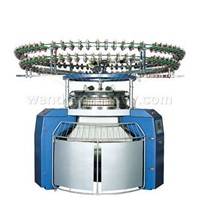 Three-thread Fleece knitting machine