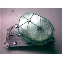 Modified Autoconer Gear-Box Housing Base Plate(ALUM9) with Polycarbonate Cover