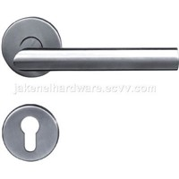 tubing lever door handle