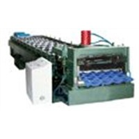roll forming machine for metal tile roof