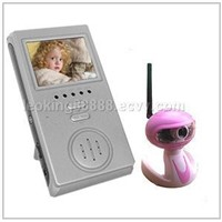 2.4GHz Wireless Baby Monitor+Night Vision+Built-in Microphone and Speaker