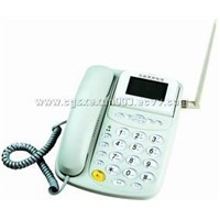 GSM/CDMA fixed wireless telephone
