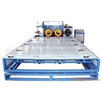 plastic pipe auto belling -machine