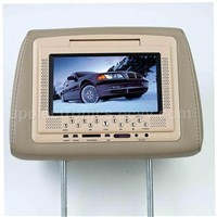 "7"" Headrest Pillow Monitor with DVD Player"