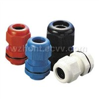 Nylon Cable Gland IP68 Waterproof PG Thread for Plastic Junction Box