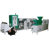 Model JYJ-2 Double Screw Rod Extruding Coating Machine