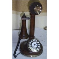 antique reproduction candlestick telephone v042