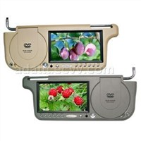 "7""Sun Visor LCD Monitor with DVD Player"