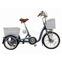 Li-battery electric tricycle
