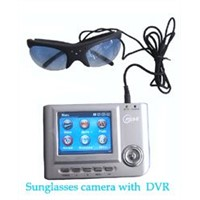 Sunglasses spy camera with recorder