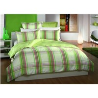7pc cotton comforter set.
