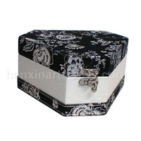 Gift Box with Leatherette Cover
