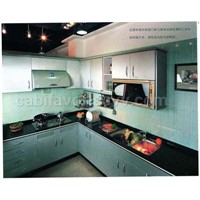 European style kitchen cabinet
