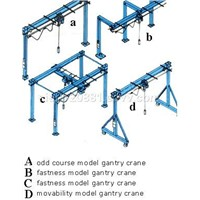 GANTRY LIGHT CRANE