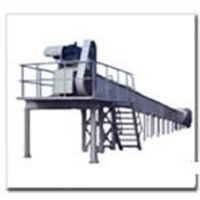 coal feeder with bracket