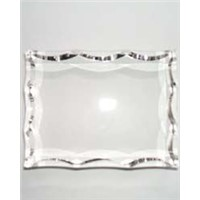 Blank Crystal with Curved Edges Ky8062
