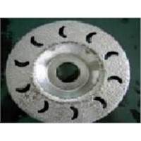 Vacuum brazed diamond cup wheel