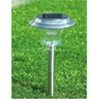 SOLAR STAINLESS STEEL LAMP