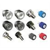 panel fastener assemblies captive screws spring loaded plungers studs