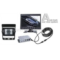 "7"" Wired car rear view system"