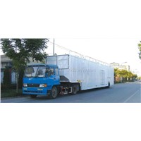 Single Axle Car Transportation Semi-Trailer