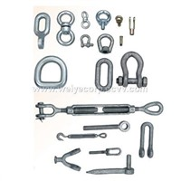 rigging & other forged parts