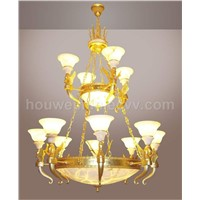 alabaster chandelier lamp