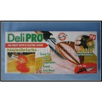 Deli Pro Knife with Slicing Guide DPKT001