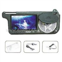 Sun Visor with DVD Function