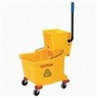 Single Mopwringer Trolley