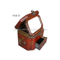 Mirror Box,Chinese Fork Antique Craft